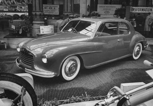 1947 Isotta Fraschini at Paris Motor Show 1947