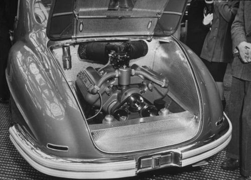 1947 Isotta Fraschini at Paris Motor Show