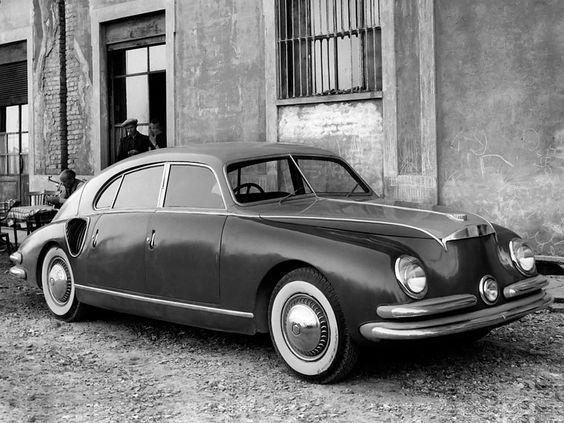 1947 Isotta Fraschini Tipo 8C Monterosa (Zagato). A prototype.