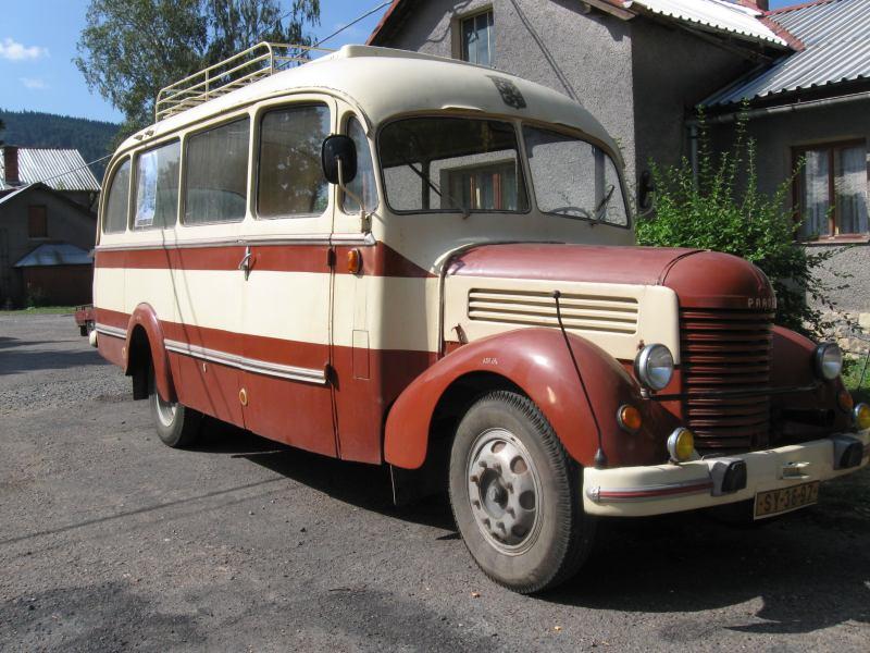 1947 Praga RN Autobus
