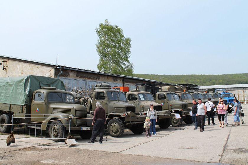 1947+1953 Praga RN and Praga V3S military trucks
