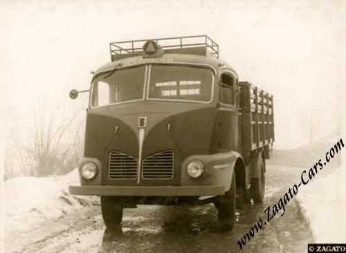 1948 Isotta Fraschini D65 Zagato Foward-Steering Truck Cab