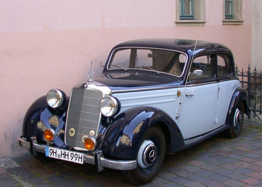 1949-52 Mercedes Benz 170 S W191