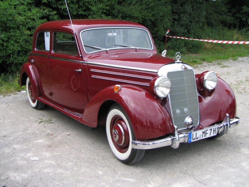 1950 Mercedes 170S W136