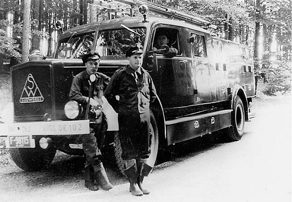 1950's Germany-wider (Krupp-)Südwerke manufactured U.S. fire engine