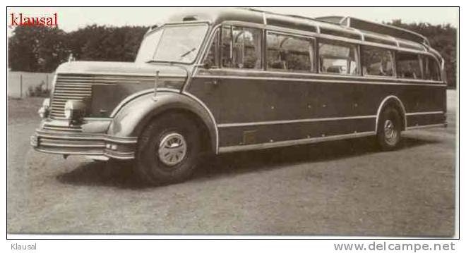 1951 Bus der Krupp-Südwerke SW0 60 Mustang