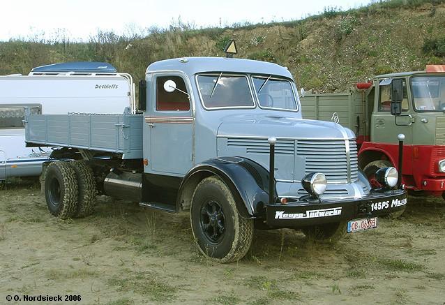 1951 Krupp Südwerke Mustang Pritschenkipper