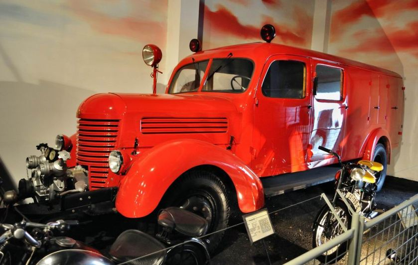 1951 Praga RN firefighting car
