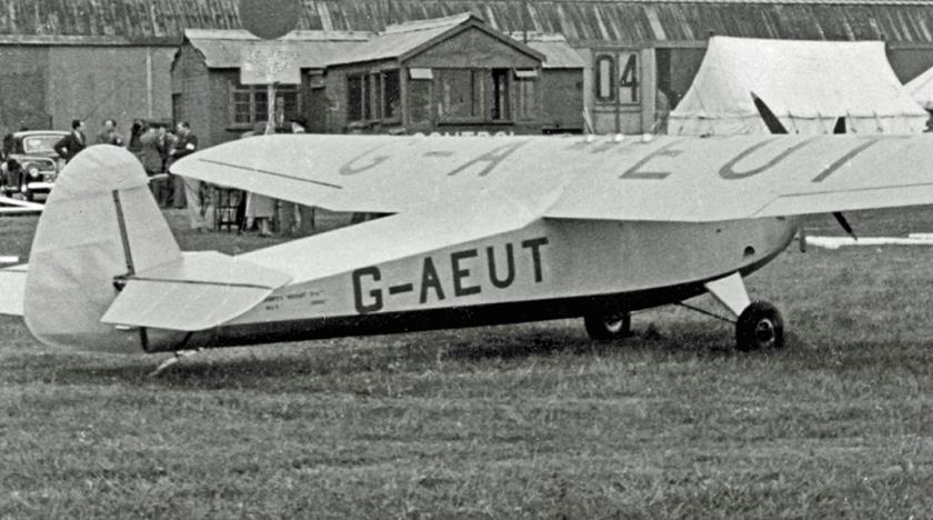 1952 Hillson Praga G-AEUT