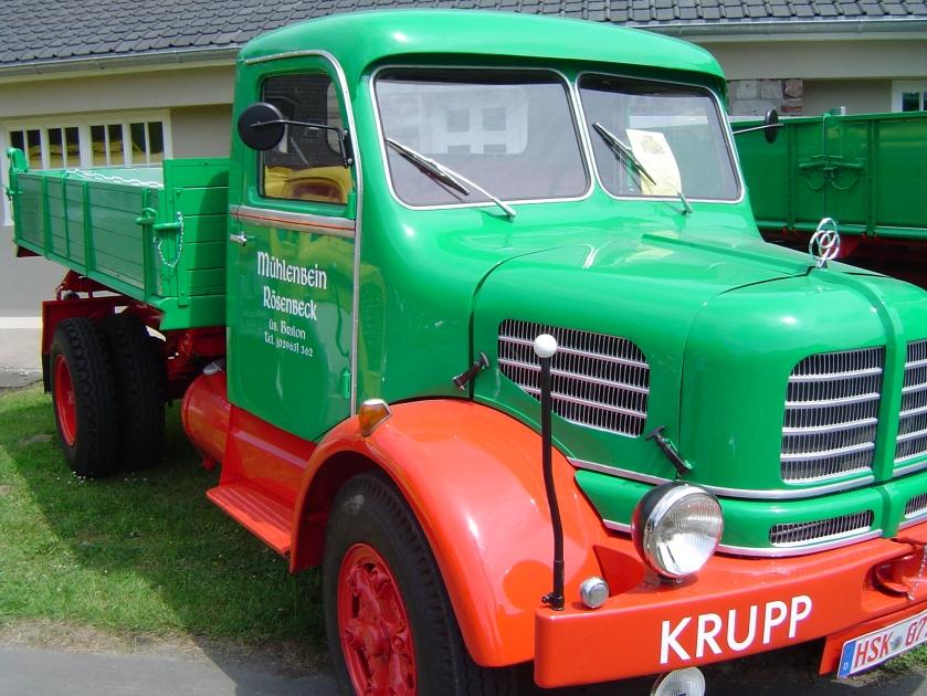1952 Krupp Oldtimertag - Flugplatz Meschede Schüren