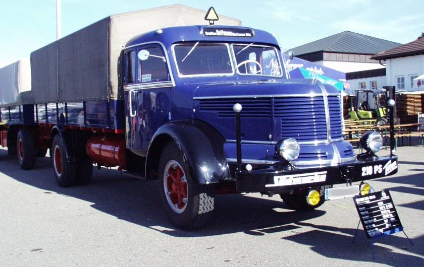 1952 LKW Krupp Titan