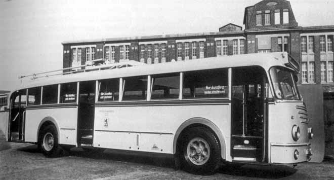 1953-57 krupp O8E Trolley
