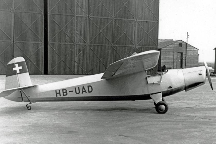1953 Praga E.114 Air Baby HB-UAD RWY