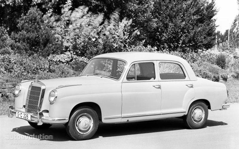 1954-59 MERCEDES BENZ S-KLASSE PONTON (W180-W105-W128) 219