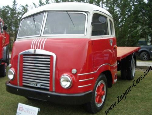 1954 Isotta Fraschini D65M Zagato Front-Steering Cabin Truck.