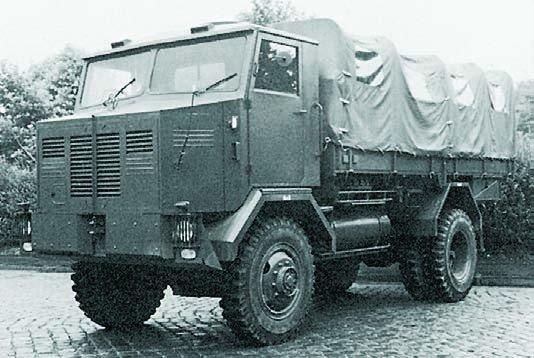 1955 Krupp-Sudwerke Drache AL8 Dr4, 4x4