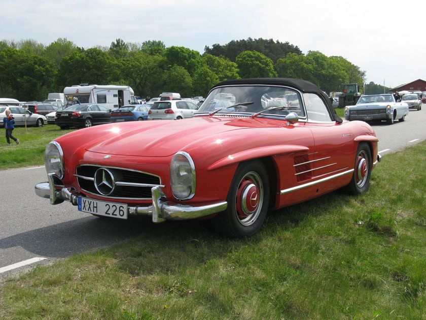 1957 Mercedes Benz 300 SL Roadster (W198)