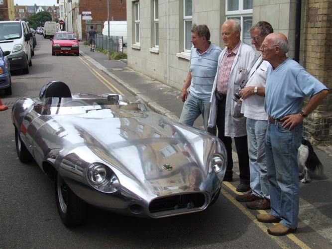 1958 Elva Front Engineers