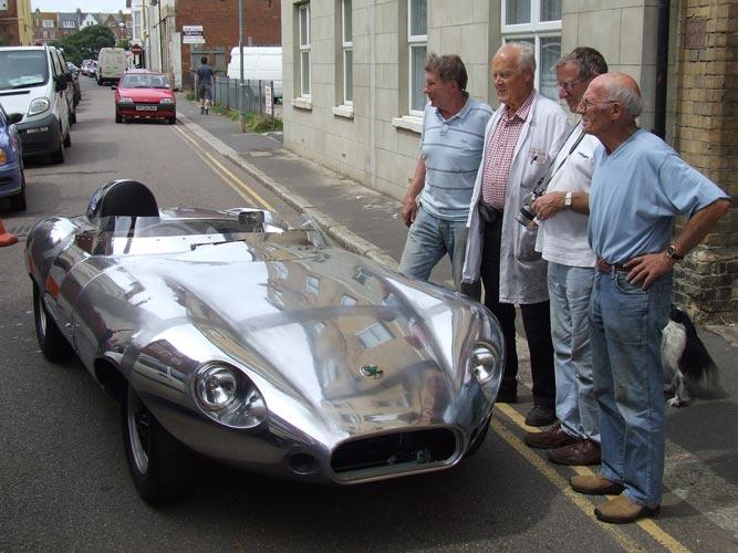 1958 Elva Front Engineers