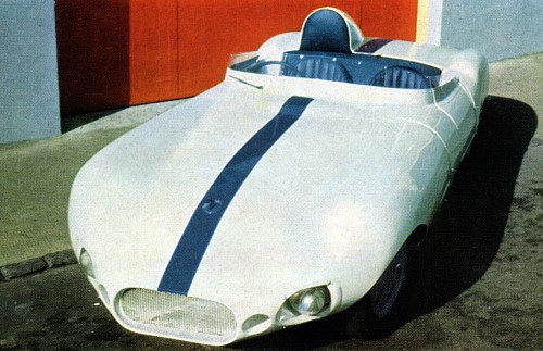 1958 Elva mk3 sports car