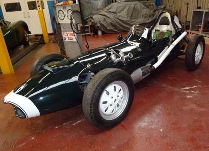 1959 Elva 100 Formula Junior 410 bl