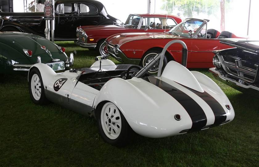 1959 Elva Mk V Climax sports-racer