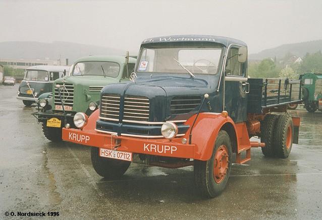 1959 Krupp K 701 Pritschenkipper