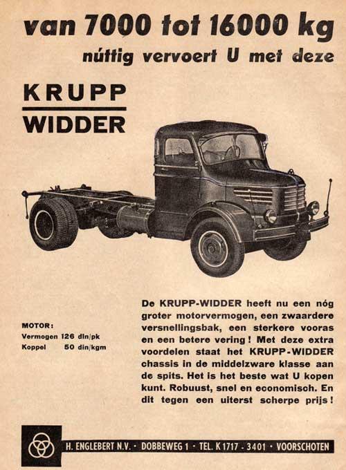 1960 krupp-englebert ad