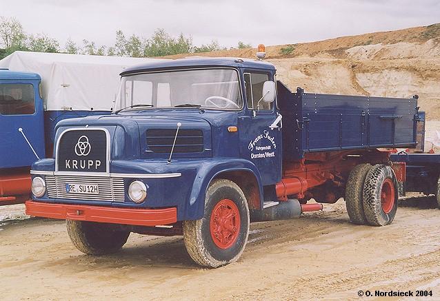 1960 Krupp KS 801 Pritschenkipper