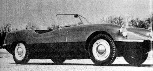 1961 Elva Courier Roadster