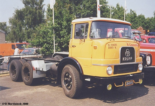 1961 Krupp KF 301 Kipper-Fahrgestell