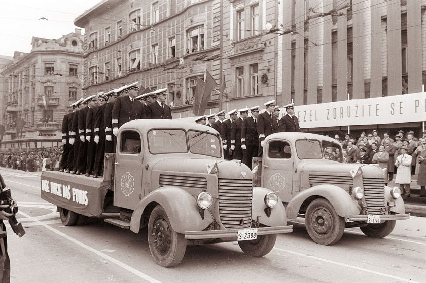 1961 Praga Parade