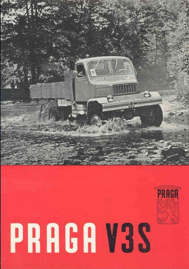 1961 Praga V3S Truck Brochure wg5517