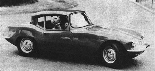 1962 Elva coupe