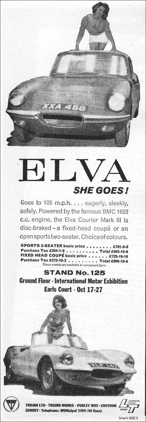 1962 Elva oct ad