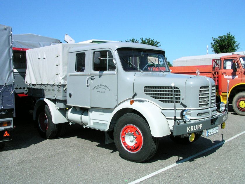 1962 Krupp K 701, 7 Tonnen Nutzlast, 156 PS, 80 km-h a