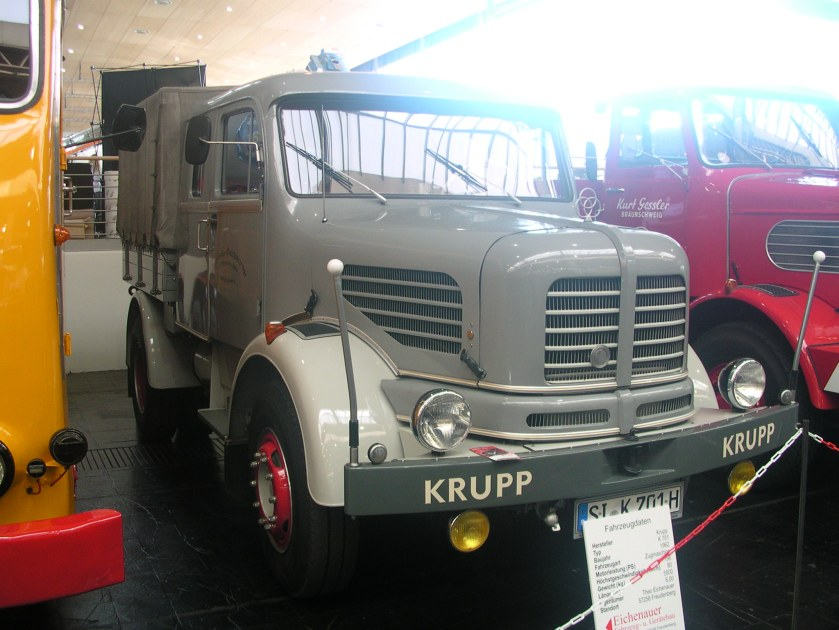 1962 Krupp K 701, 7 Tonnen Nutzlast, 156 PS, 80 km-h b