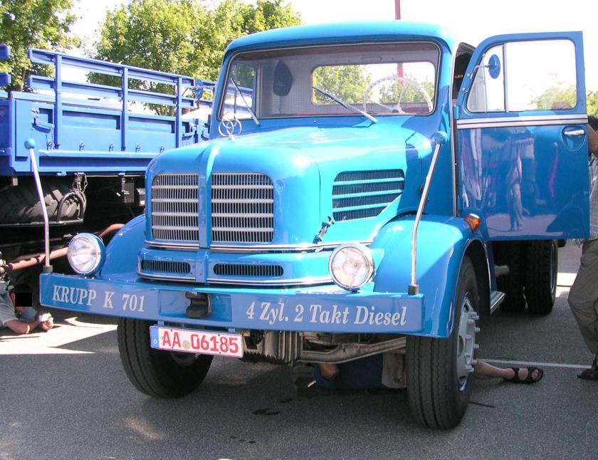 1962 Krupp K701 bl