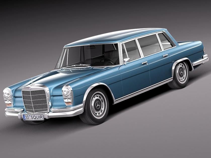 1963-81 D Model Mercedes Benz 600 w100 1963 to 1981