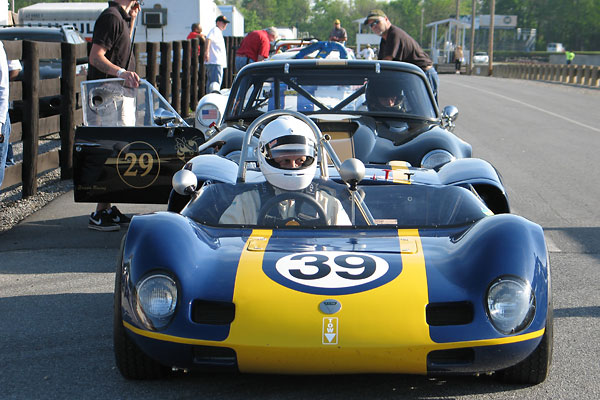 1963 Elva MkVII Race Car, Number 39