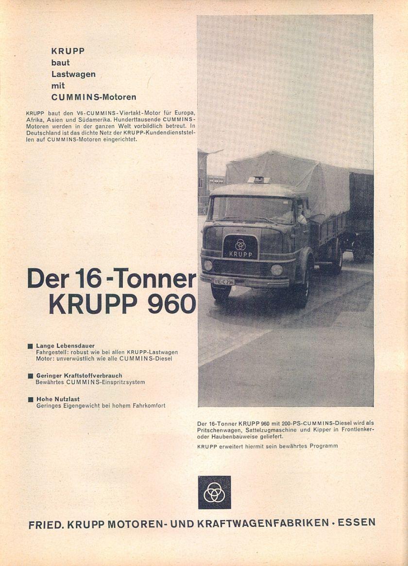 1963 Krupp-960-1963-Reklame