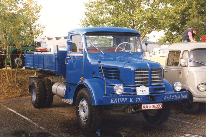 1963 Krupp K 701 gehört Wolfgang Riek aus Lorch-Waldhausen