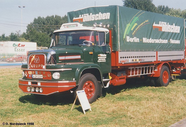 1963 Krupp L 1080 Pritschen-Lkw