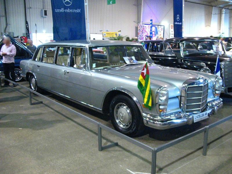 1963 Mercedes 600 Pullman W100 (1963-1981)