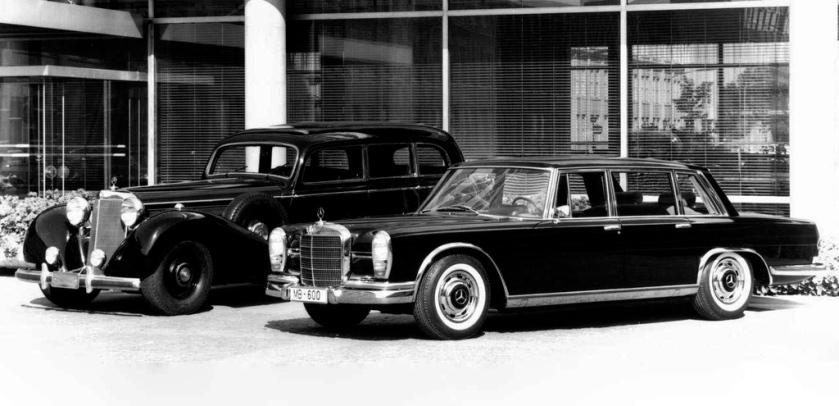 1963 mercedes 600 w100
