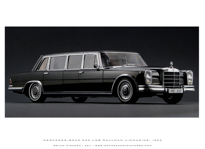 1963 Mercedes-Benz 1963 600 LWB Pullman Limousine