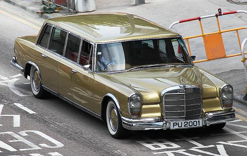 1963 Mercedes-Benz, 600, Admiralty, Hong Kong