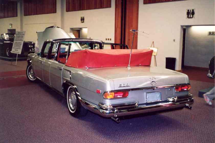 1963 Mercedes Benz 600 Landau 4