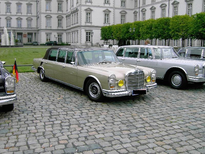 1963 Mercedes Benz 600 Landau 5