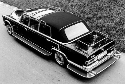 1963 Mercedes Benz 600 Landau ouder